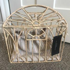 Zara cage bag nwt